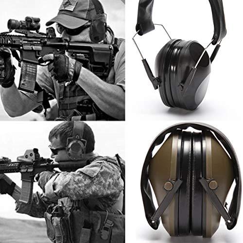 Lurrose 1 Pc Ear Defender Noise Reduction Nützliche professionelle Ohrmuschel Gehörschutz für Shooting Aiming