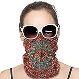 Antique Kurdish North west Persian Face Mask Bandanas Scarf Balaclava Neck Warmer Headband for Dust Outdoors Sports Dust Sun, Cold Protection