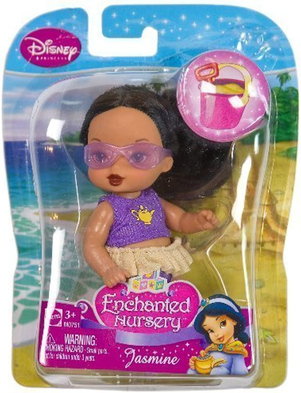 Jasmine (M0751)  Disney Princess Enchanted Nursery Summer Beach Series 4  Figure by Disney Princess  Aladdin