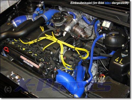 Corrado VR6 2.8L Set tuyau eau AAA Tuyau en silicone refroidissement circuit Bleu