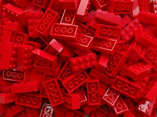 lego classic tegole LEGO Bricks: Red 2x4. PartE 3001 (X 25) di LEGO