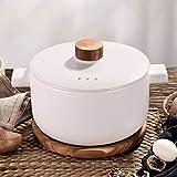 CeráMica Hot Pot Cazuela Olla De Sopa Alta Temperatura Resistente, Saludable Y Duradera 4.5l.