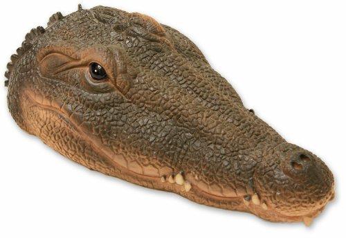Woodside - Krokodilkopf schwimmend - Gartenteichdekoration