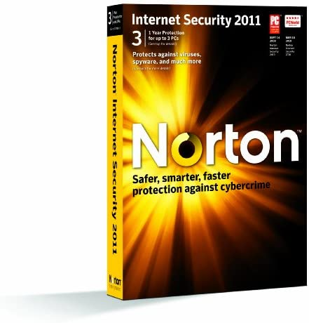 Norton Internet Security 2011 1 User 3 PC Old Version product image