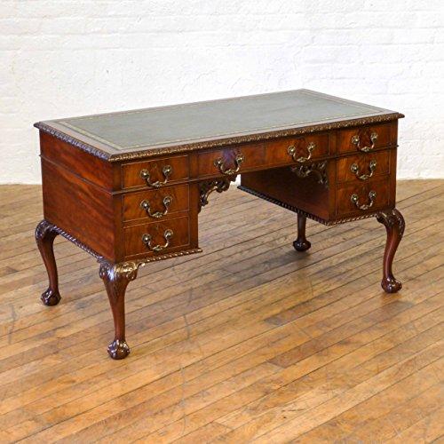 Madera de caoba de estilo Chippendale escritorio (Circa 1905 ...