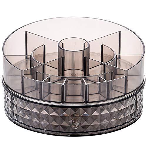 Xiaoxiao Kosmetische Aufbewahrungsbox - Acrylmaterial, drehbare Aufbewahrungsbox, offene Kombination, wasserdicht und staubdicht, Höhe ist nicht begrenzt. Geeignet für Schlafzimmer, Wohnzimmer, Schmin