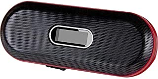 Travel Speaker & FM Radio - Black & Red