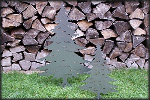 Patine Décoration Arbre de Noël/sapin/métal Tannenbaum groß