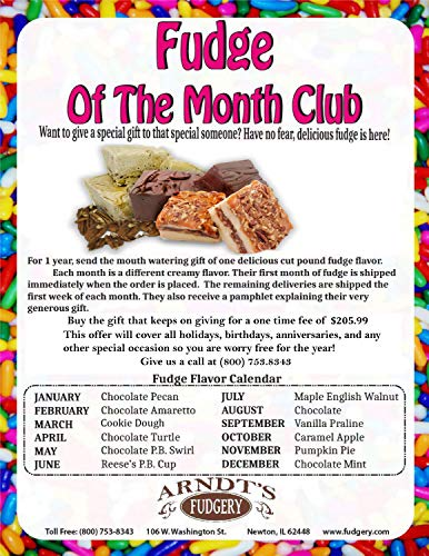 Amish-Buggy Month Club (Fudge of the Month Club)