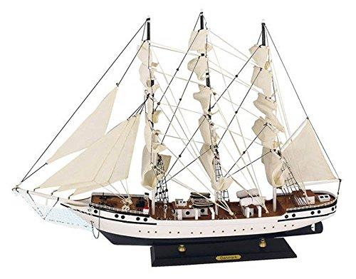 Dänemark Segelschiff Modell Modellsegelschiff Standmodel 3 Master Deko Maritim Ostsee Nordsee Sylt