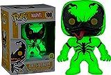 Funko 024954Pop Marvel: Anti de Venom Glow in The Dark de 100Bobble Head Figure