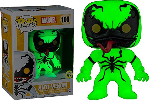 Funko POP! Marvel: Anti Venom brilla en la oscuridad Exclusivo