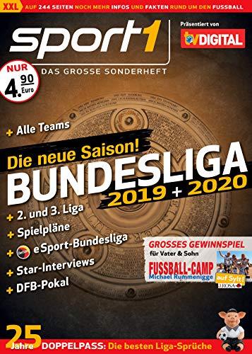 SPORT1 Bundesliga 2019/2020 – Das große Sonderheft – Alle Infos, Stars und Highlights der neuen Saison