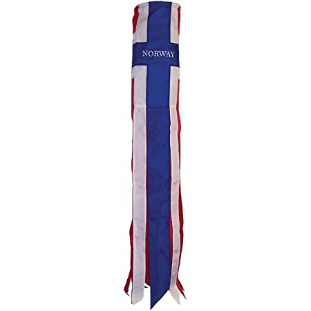 FlagsImp Ireland Clover Super Shiny Windsock Premium Quality Polyester