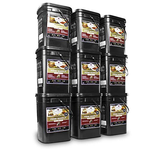 Wise Company Long Term Emergency Food Supply, Breakfast and Entree Variety (18 Buckets- Total of 2160 Servings)