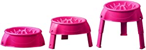 Outward Hound 3in1 Up Feeder Elevated Raised Slow Feed Prevent Bloat Dog Bowl