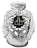 WBYFDC Sudaderas con Capucha De Impresión Digital De Pared 3D Creativas Sudaderas Deportivas De Manga Larga Suelta Uniforme De Béisbol Sudaderas con Capucha para Hombres Casual Otoño Invierno