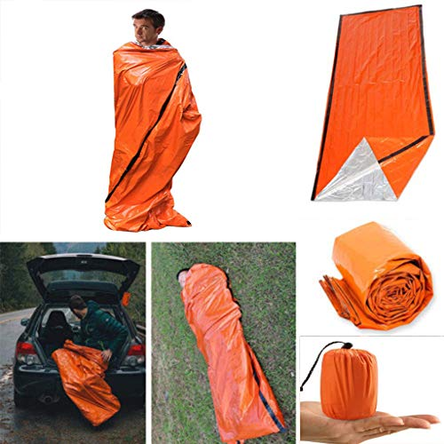 Outdoor and Garden Tents for Camping,Emergency Sleeping Bag Thermal Waterproof for Survival Hiking Tents,Best Choice