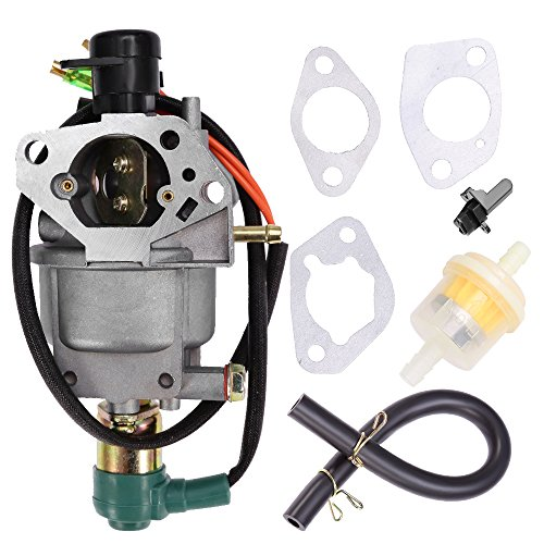 Carburetor for Honda EB5000X EM5000S EM5000SX EM5000X EW171 Gas Generator Carb with Air Filter Gaskets Fuel Line