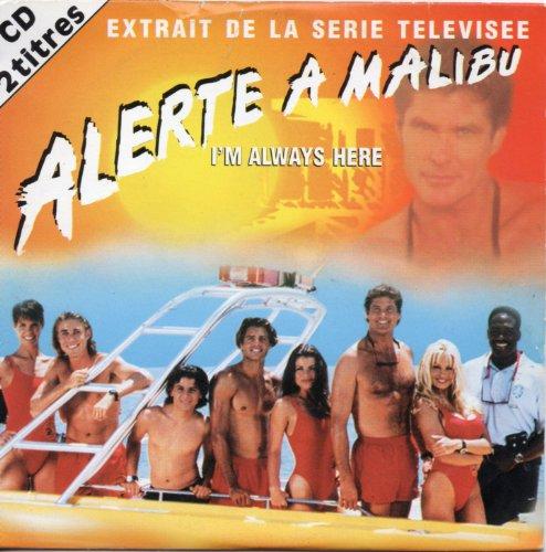I'm always here 2-track CARD SLEEVE - Soundtrack Alerte a Malibu - 1) Jim Jamison : I'm always here 2) David Hasselhoff : Curent of love - CDSINGLE