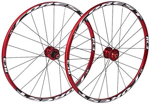Yshuai - Juego de 7 ruedas traseras delanteras para bicicleta de montaña...