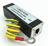 Sancable RJ45 Ethernet Surge Protector Gigabit - LAN Network Thunder Lighting Surge Protection