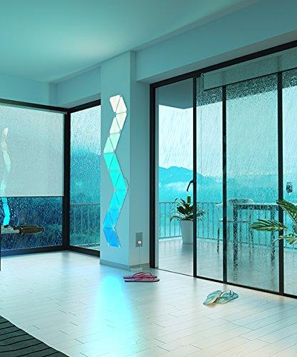 nanoleaf Aurora – 9x Modulare Smarte LED – Lichtpanels mit App Steuerung - 10