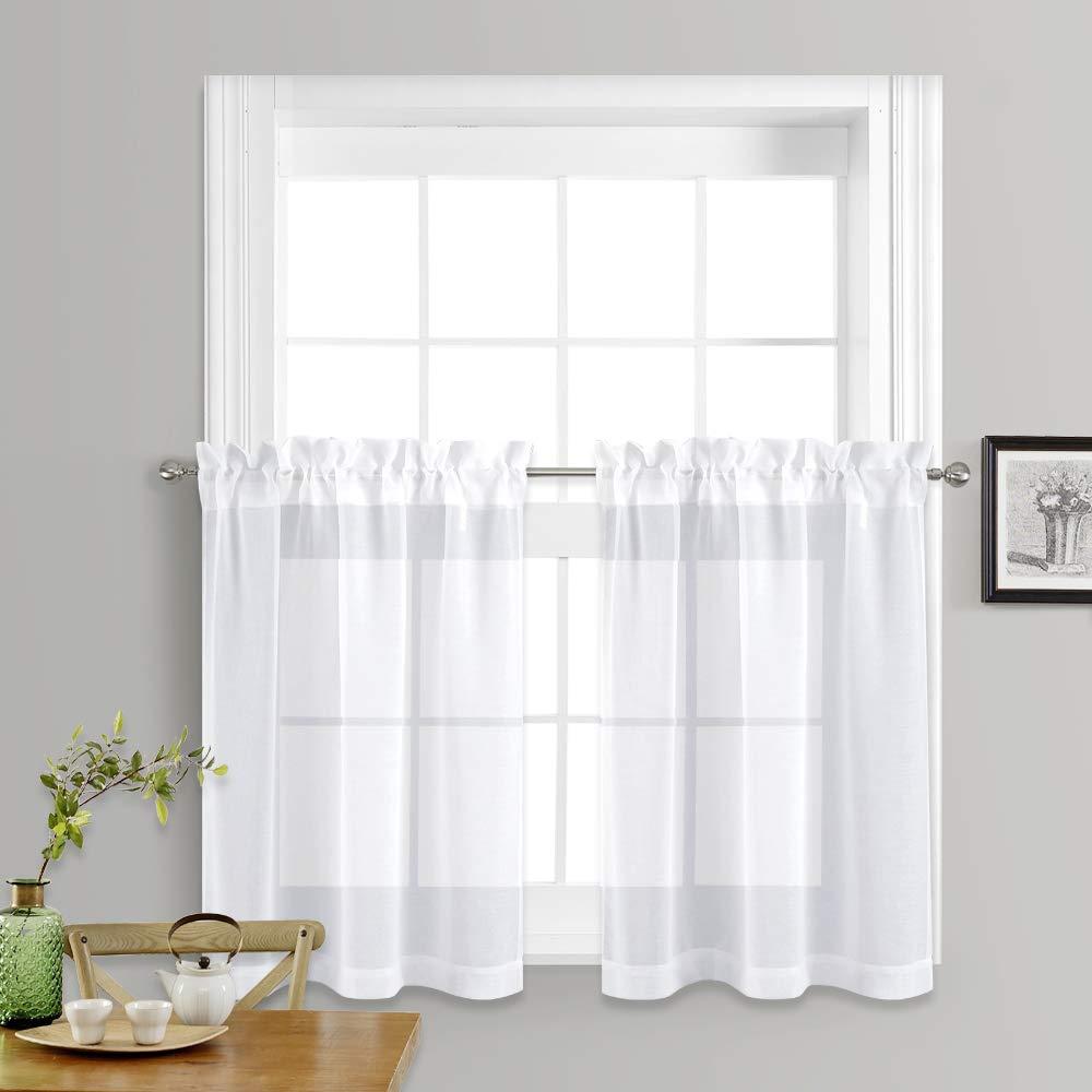 225 & Sheer Kitchen Curtains: Amazon.com