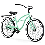 sixthreezero Around The Block Women's Single-Speed Beach Cruiser Bicycle, 26' Wheels, Mint...
