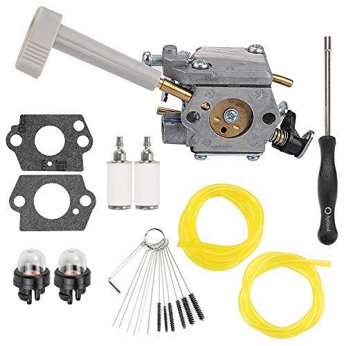 Buckbock RY08420A Vergaser für Ryobi Bp42 Vergaser 308054079 RY08420 Rucksackgebläse Motorrasenmäher Schneefräse mit Repower Parts Kit