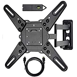 "VideoSecu ML531BE TV Wall Mount for Most 27""-55"" review 2019"