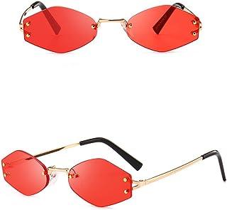 ed0c6355a8 AMOFINY Fashion Glasses Women Fashion Cat Eye Shades Sunglasses Integrated  UV Candy Colored