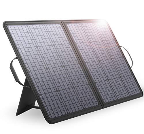ALLPOWERS 100W 12V 18V Monocrystalline Solar Panel Dual 5V USB 18V DC für Laptop, Tablet