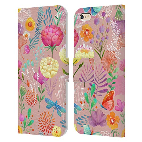 Official Oilikki Spring Assorted Designs Leather Book Wallet Case Cover Compatible For iPhone 6 Plus/iPhone 6s Plus