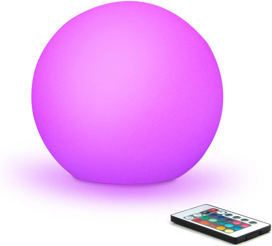 Mr.Go 6-inch RGB Color-Changing All items free shipping LED Globe Mo 100% quality warranty Light w Remote Orb