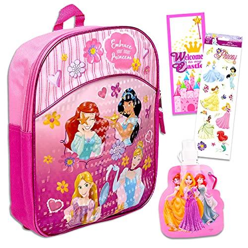 Disney Princess Backpack for Girls Bundle ~ Premium 11' Disney Princess...