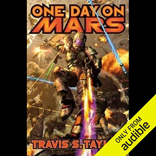 One Day on Mars audiobook cover art
