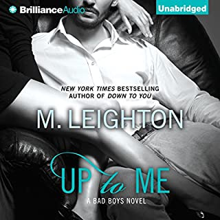 Up to Me audiobook cover art