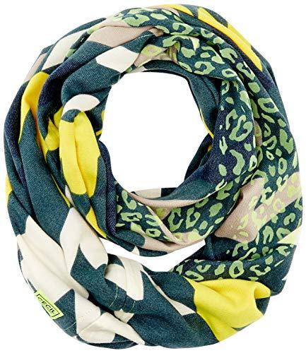 Cecil Damen B571220 Mode-Schal, neon Lemon, One Size