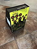Super Target Systems Bullet Trap 12' x 18' Enclosed, 1' Ballistic Rubber Face, Enclosed Caliber 9 mm and .22 Caliber Ammo