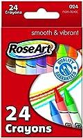 Roseart Crayons 24 Per-Pack (6 pack)
