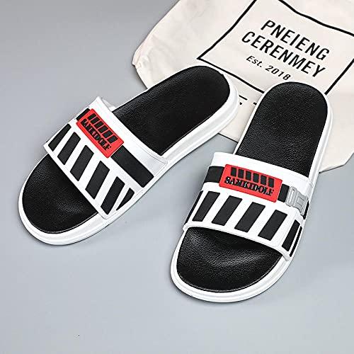 Yumanluo Hombre Verano Zapatillas Flip Flops Sandal Zapatos de Playa y Piscina,Pareja de Sandalias y Pantuflas con Plataforma-G_42 / 43