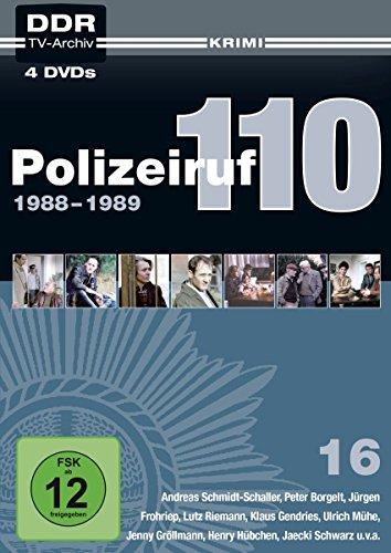 Polizeiruf 110 Box 16: 1988-1989 (DDR TV-Archiv) [4 DVDs]