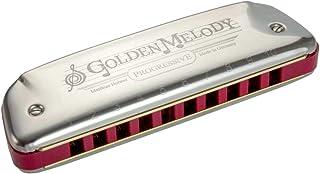 Hohner Harmonica Blues Golden Melody-542 20 en Tonalité C, 542PBX-C