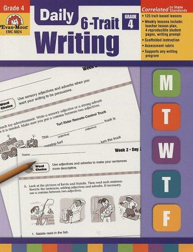 Daily 6-Trait Writing, Grade 4