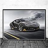 KWzEQ Retro Muscle Car Race Carteles e Impresiones Arte de la Pared Lienzo Cuadros de Pared...