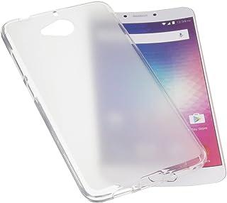 85a1d8cc9c8 foto-kontor Funda para BLU Vivo 6 Protectora de Goma TPU para móvil  Transparente Blanca