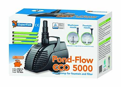 Pond Flow Eco 5000 Springbrunnenpumpe