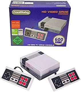 HDMI HD Video Game System Retro Classic Game Consoles Built-in 600 Childhood Classic Game Dual Control