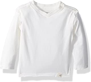 Baby Boys T-Shirt, Long Sleeve V-Neck and Crewneck Tees, 100% Organic Cotton